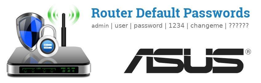 Router.asus default password